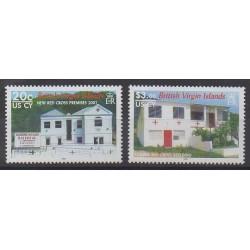 Vierges (Iles) - 2007 - No 1052/1053 - Santé ou Croix-Rouge