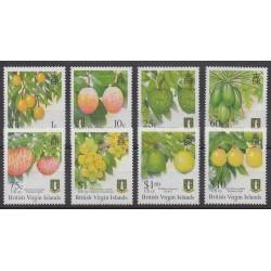 Vierges (Iles) - 2005 - No 1018/1025 - Fruits ou légumes