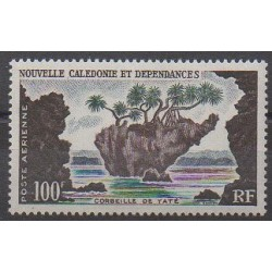New Caledonia - 1955 - Nb PA71 - Sights