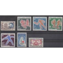 Nouvelle-Calédonie - Année complète - 1963 - No 307/313