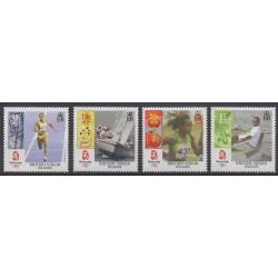 Vierges (Iles) - 2008 - No 1063/1066 - Jeux Olympiques d'été