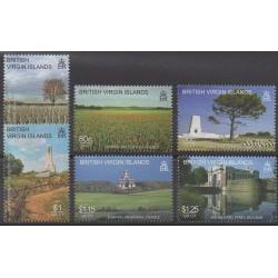 Vierges (Iles) - 2008 - No 1071/1076 - Première Guerre Mondiale