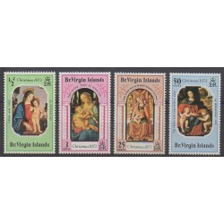 Virgin (Islands) - 1973 - Nb 260/263 - Christmas