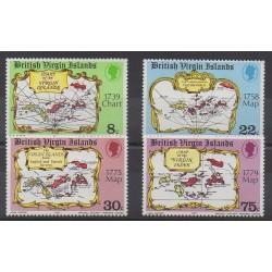 Virgin (Islands) - 1977 - Nb 318/321