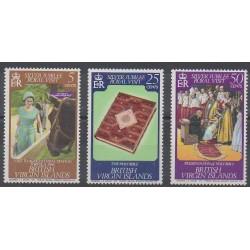 Vierges (Iles) - 1977 - No 322/324 - Royauté - Principauté