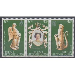Vierges (Iles) - 1978 - No 343/345 - Royauté - Principauté
