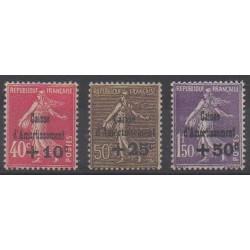 France - 1930 - No 266/268 - Neufs avec charnière