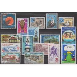 Nouvelle-Calédonie - Année complète - 1976 - No 397/405 - PA169/PA175