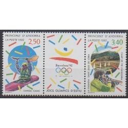 Andorre - 1992 - No 419A - Jeux Olympiques d'été
