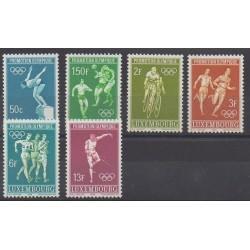 Luxembourg - 1968 - No 716/721 - Jeux Olympiques d'été