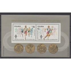 Pologne - 1984 - No BF102 - Jeux Olympiques d'été