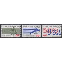 Micronésie - 1987 - No PA24/PA26 - Histoire