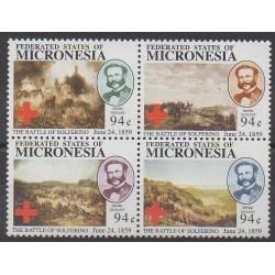 Micronésie - 2010 - No 1764/1767 - Santé ou Croix-Rouge