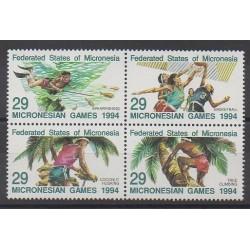 Micronésie - 1994 - No 287/290 - Sports divers