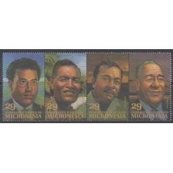 Micronesia - 1993 - Nb 234/237 - Celebrities