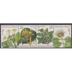Micronesia - 1994 - Nb 296/299 - Flowers