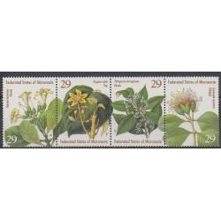 Micronésie - 1994 - No 296/299 - Fleurs