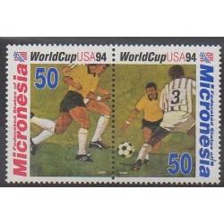 Micronésie - 1994 - No 300/301 - Coupe du monde de football