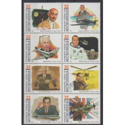 Micronésie - 1995 - No 336/343 - Aviation