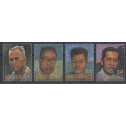 Micronésie - 1994 - No 328/331 - Célébrités