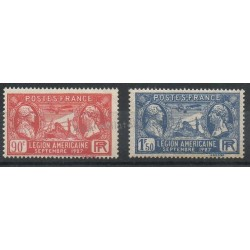 France - Poste - 1927 - No 244/245