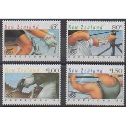 Nouvelle-Zélande - 1992 - No 1164/1167 - Jeux Olympiques d'été