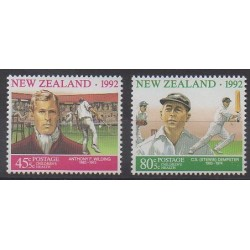 New Zealand - 1992 - Nb 1186/1187 - Various sports