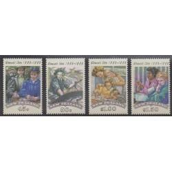 New Zealand - 1993 - Nb 1223/1226