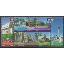 Nouvelle-Zélande - 2002 - No 1907/1912 - Monuments