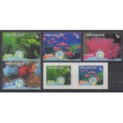 Nouvelle-Zélande - 2008 - No 2376/2381 - Animaux marins