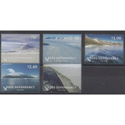 Ross Dependency - 2012 - Nb 135/139 - Polar
