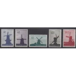 Netherlands - 1963 - Nb 769/773
