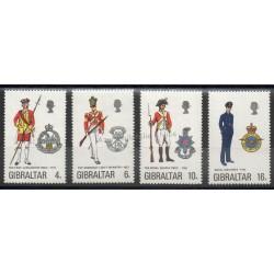 Gibraltar - 1974 - No 308/311 - Histoire militaire
