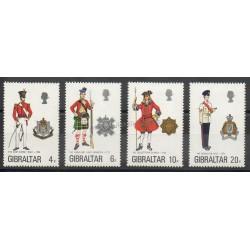 Gibraltar - 1975 - No 316/319 - Histoire militaire