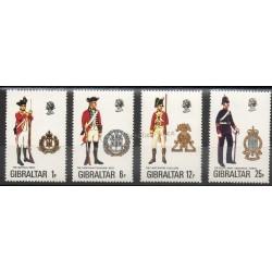Gibraltar - 1976 - No 338/34 - Histoire militaire
