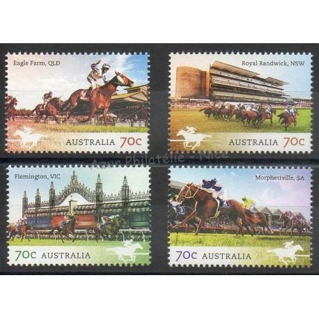 Stamps - Theme horses - Australia - 2014 - Nb 4049/4052