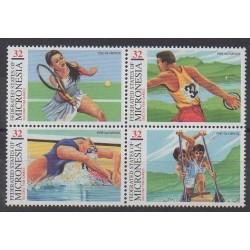 Micronesia - 1997 - Nb 473/476 - Summer Olympics