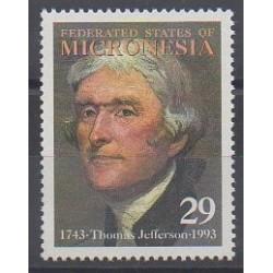 Micronésie - 1993 - No 229 - Célébrités