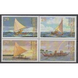 Micronesia - 1993 - Nb 230/233 - Boats