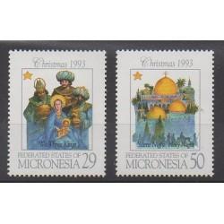 Micronésie - 1993 - No 256/257 - Noël