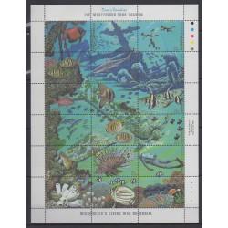 Micronésie - 1988 - No 65/82 - Animaux marins