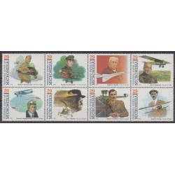 Micronesia - 1993 - Nb 205/212 - Planes