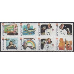 Micronesia - 1994 - Nb 279/286 - Space - Planes