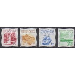 Micronésie - 1988 - No 57/60 - Sites