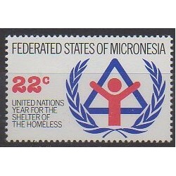 Micronésie - 1987 - No 44 - Nations unies
