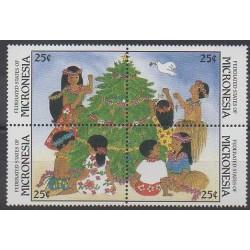 Micronésie - 1988 - No 61/64 - Noël