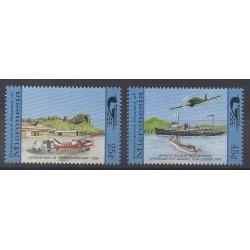 Micronésie - 1990 - No 146/147 - Service postal