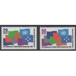 Micronesia - 1992 - Nb 202/203 - United Nations