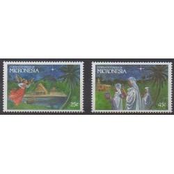 Micronesia - 1989 - Nb 131/132 - Christmas