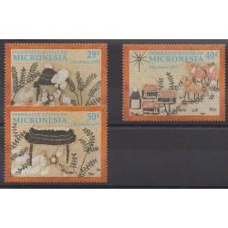 Micronésie - 1991 - No 173/175 - Noël